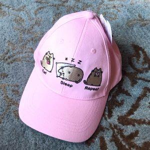 NEW Pusheen Eat Sleep Repeat Baseball Hat